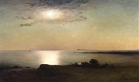 probably outer boston harbor by william formby halsall