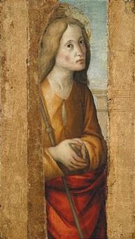 figura di santo by macrino d'alba