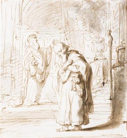 a scene of sacrifice by gerbrand van den eeckhout