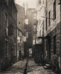 the old closes and streets of glasgow (bk w/text by william young w/50 works) by thomas annan