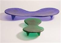 2 schalen progetto oggetto (pair) by marc newson
