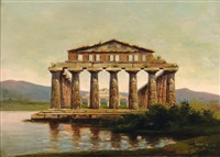 le temple de paestum by luigi scorrano