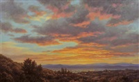 santa fe from afar by grant macdonald