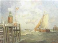 cuxhaven by gerhard (von bruch) west