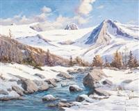 paesaggio innevato by ottorino junior campagnari