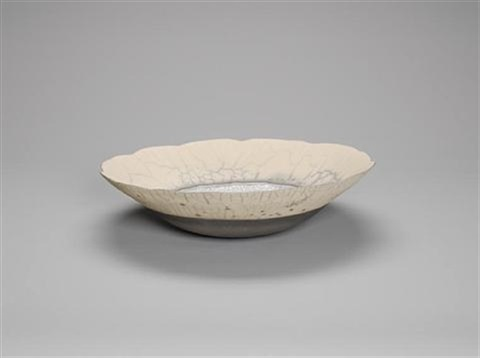 a large round bottomed bowl by david roberts