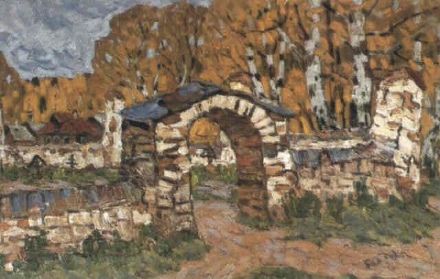 le portail en pierre by vladimir bobrov