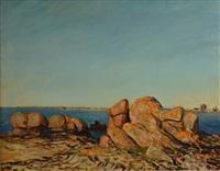 la côte de penmarc'h by charles cottet