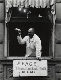 harlem (home cooked meals) by aaron siskind