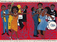 somebody stole my broken heart by faith ringgold