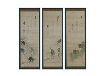 untitled (triptych) by ryukoku yamada