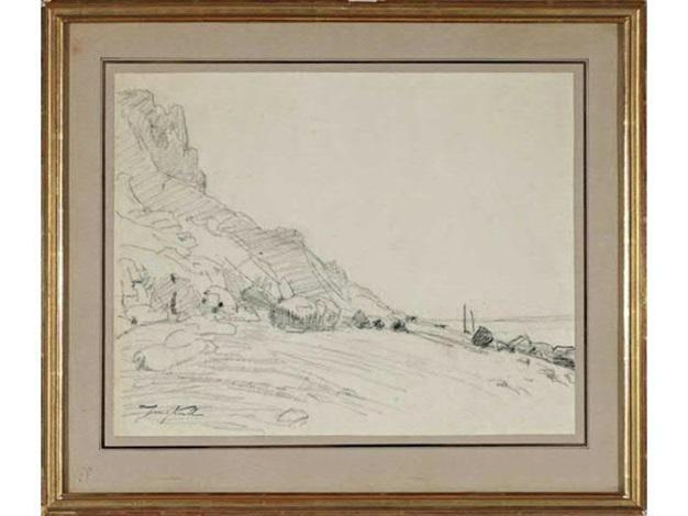 la plage de sainte adresse by johan barthold jongkind