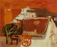 sunset, gozo by mary fedden