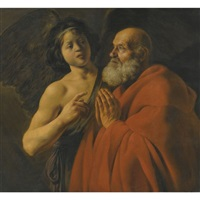 saint peter released from prison by jan lievens