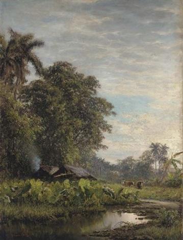 paisaje con malangas by valentín sanz carta