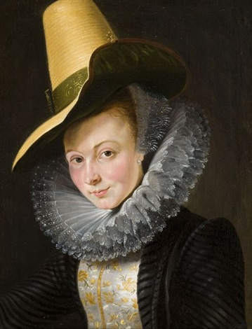 portrait d'isabelle brandt by sir peter paul rubens