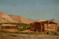 hamilton's ranch, nevada by jervis mcentee