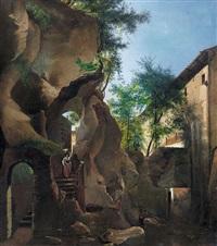 paesaggio con ciociara by augusto corelli