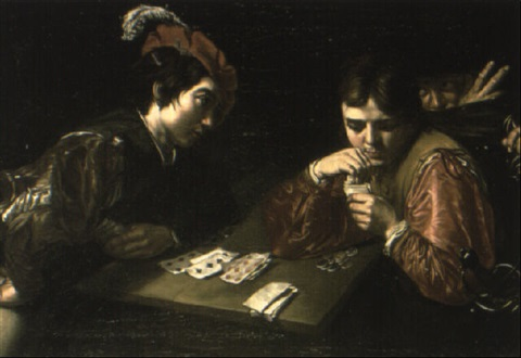 the cheat at cards by jean valentin (de boulogne)