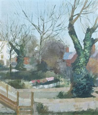 back gardens, dún laoghaire by john coyle