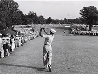 ben hogan u.s. open, merion, pennsylvania by hy peskin