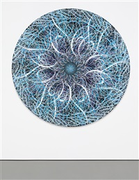untitled (black hole, blue) by ryan mcginness