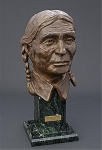 chief sitting wind (frank kaquitts) by harold pfeiffer