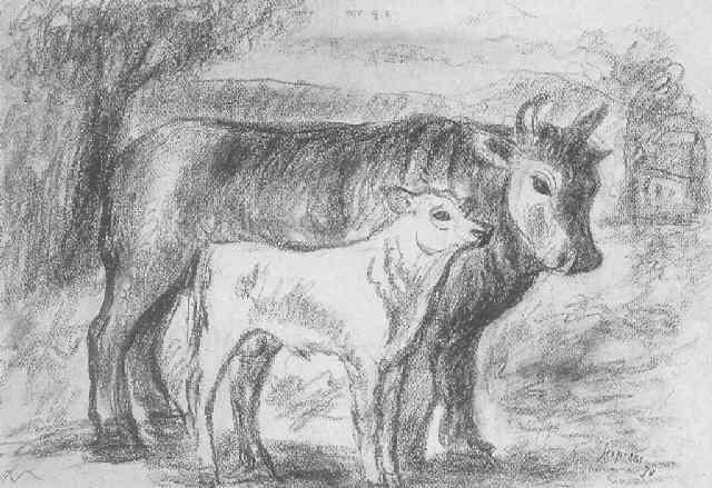 bue e vitello by scipione gino bonichi