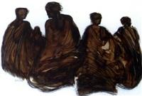 quatre femmes (afrique du nord) by claude quiesse