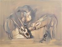le repas des jeunes hyènes by mark adlington