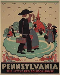 pennsylvania/the little red schoolhouse by katherine milhous