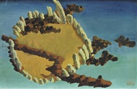 rocky island by ithell colquhoun