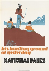 his hunting ground of yesterday/national parks by dorothy waugh