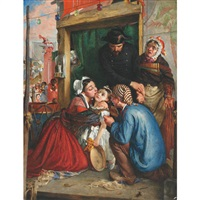 french peasants finding their stolen child by philip hermogenes calderon