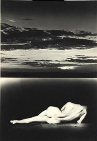 akt am meer, schweden 1996 by joachim lischke