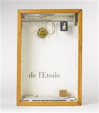 hotel de l'etoile (suzy's room, for judy tyler) by joseph cornell