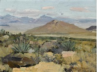 gold basin, arizona by frank tenney johnson