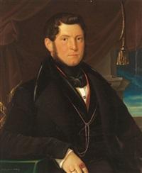 portrait eines herren by johann baptist metzler von andelberg
