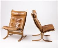 siesta chairs (pair) by ingmar anton relling
