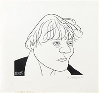 iris murdoch by nicolas bentley