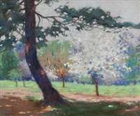 early spring by mary augusta hiester reid