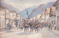 le défilé des chasseurs alpins by bernard rambaud