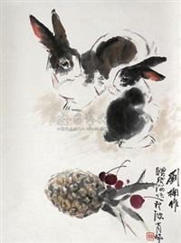 双兔 by liu nan