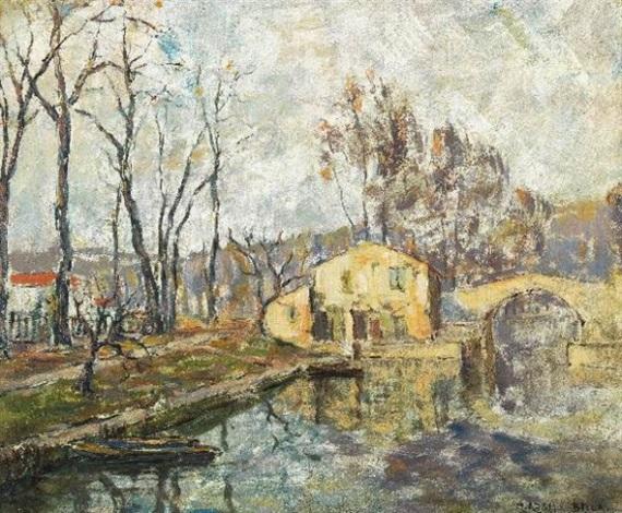 le canal à béziers by marcel azema billa