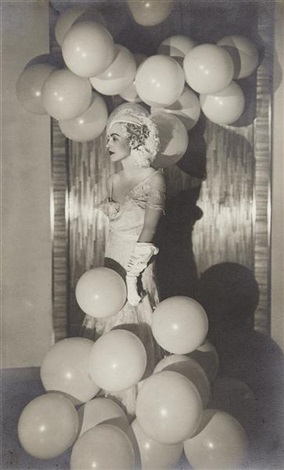 countess celani at the bal blanc by man ray