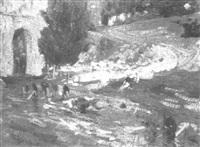 les lavandières by pierre cabanel
