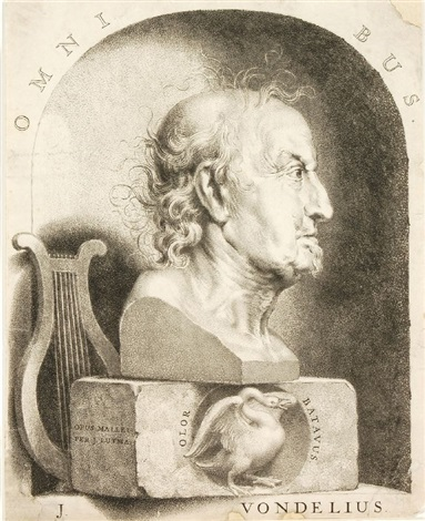 portrait j vondelius by johannes lutma the younger