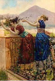 farewell from the balcony by giovanni battista filosa