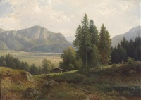 partie am kochelsee by ludwig sckell
