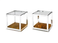 coffee tables (pair) by merrow associates